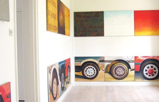 Art & the Theory by Maria Jose Ramirez Ramirez exhibiton at LaKaserna